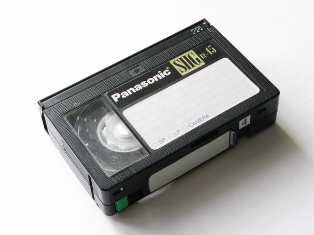 размер vhs кассеты: